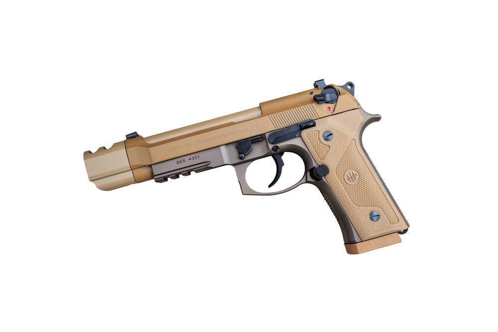 Beretta 92 : M9 Compensator Dark Earth